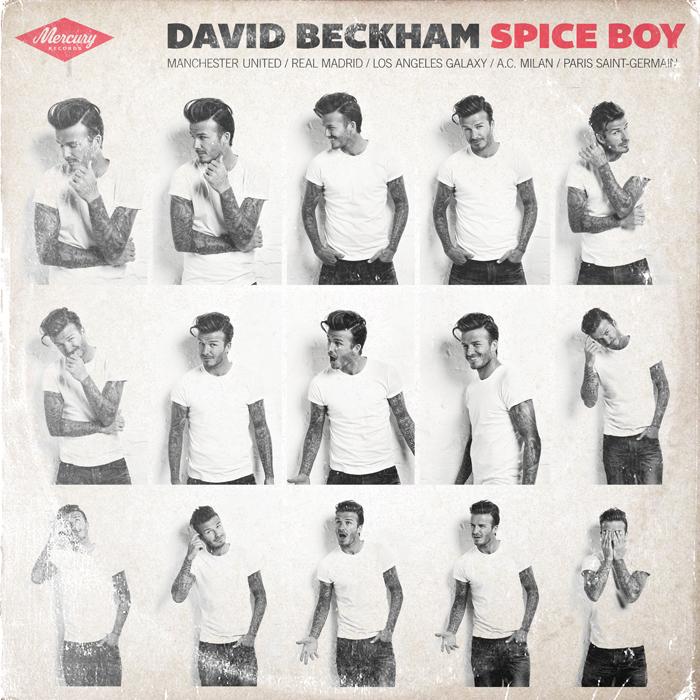 """""""El diseño de Beckham tenía que ser comercial, para todos los públicos"""", continúa Tyler. Más allá del Manchester y del Real Madrid, su matrimonio con Victoria Adams (de las Spice Girls) convirtió a Beckham en una estrella de la publicidad."""
