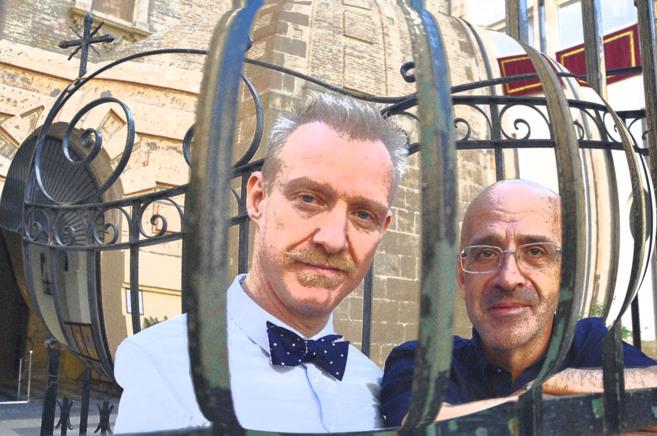 Ilustración con la visita esta Semana Santa de Chris Barron y Paco...