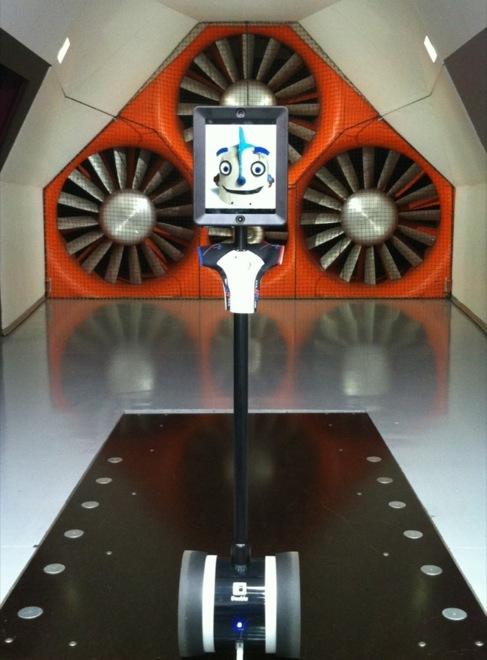 El robot de Double Robotics en una imagen de la compañía.