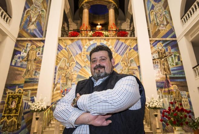 Ricardo Manuel Torrijos, hermano mayor de la cofradía de Medinaceli.