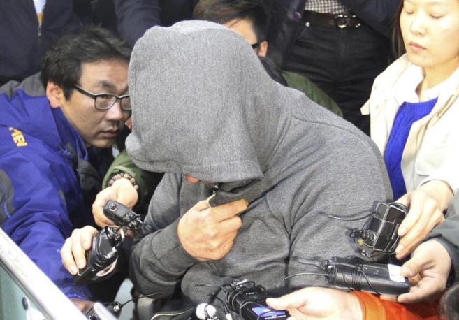 Lee Joon-Seok, capitan del barco siniestrado en el mar de Jindo,...