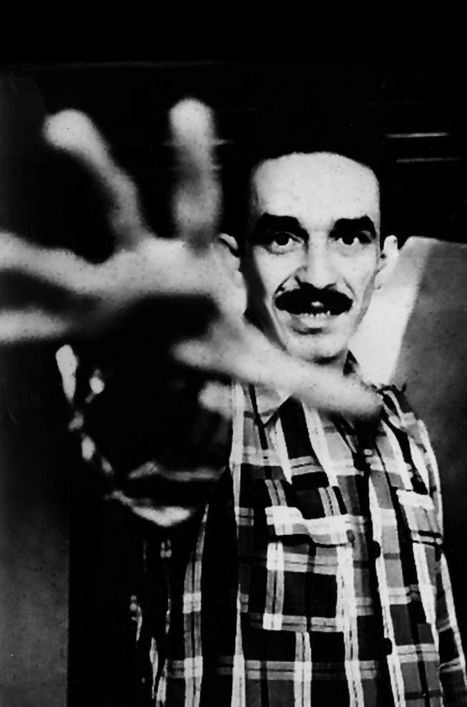García Márquez retratado por Guillermo Angulo