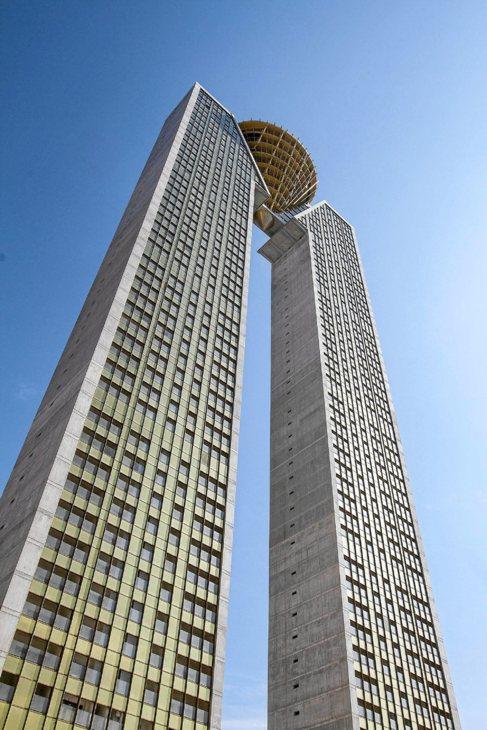 El edificio In Tempo de Benidorm.