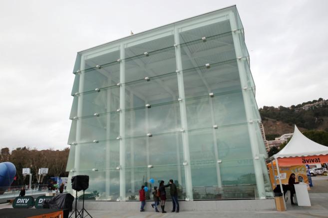 El Cubo del Puerto en el que se ubicará la sede del Pompidou.