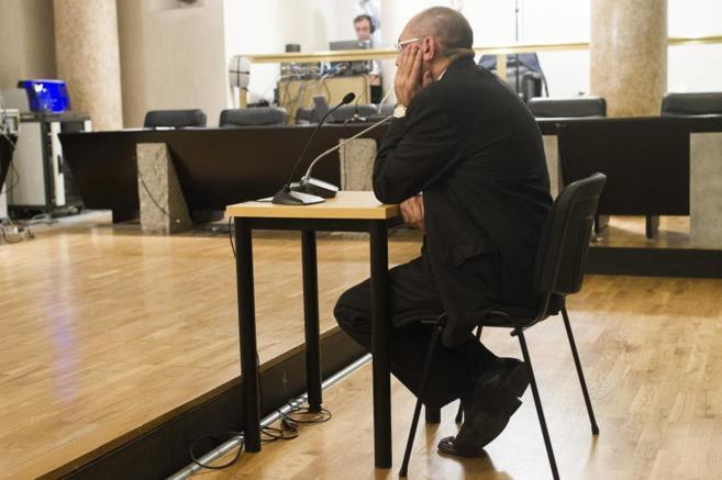 El juez Elpidio José Silva durante su declaración este lunes