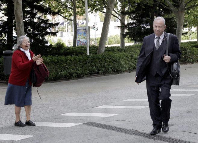 El juez del 'caso Nóos', José Castro, a su llegada a la...