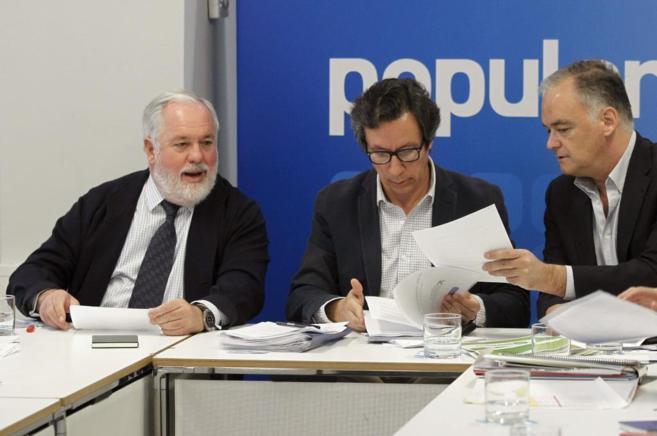 Preparando la campaña para las elecciones europeas.
