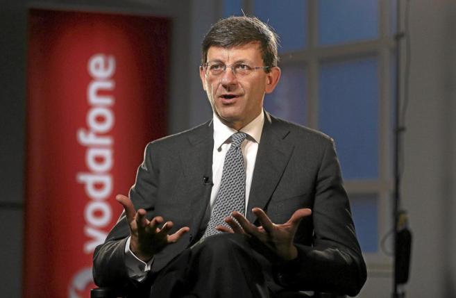El consejero delegado de Vodafone, Vittorio Colao.