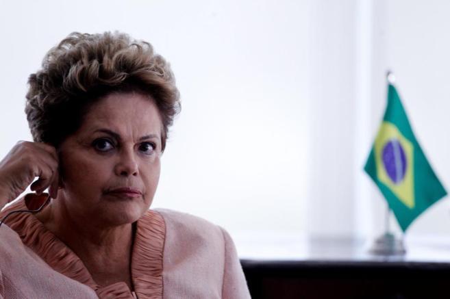 Imagen de la presidenta de Brasil, Dilma Rousseff.