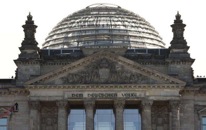 Edificio del Bundestag en Berlín.