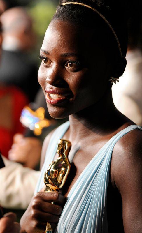 La oscarizada actriz no sólo es la más bella y premiada por su papel...
