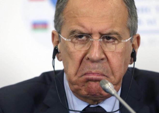 El ministro de Asuntos Exteriores ruso, Serguéi Lavrov, el martes en...