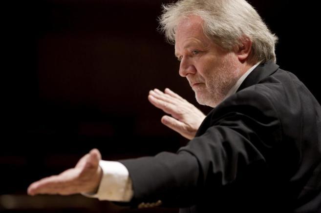 El maestro Peter Eötvös.