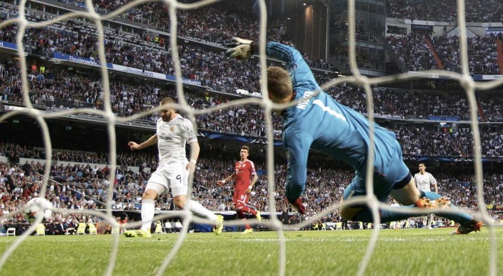 Benzema marcó en la primera parte el único gol del partido.