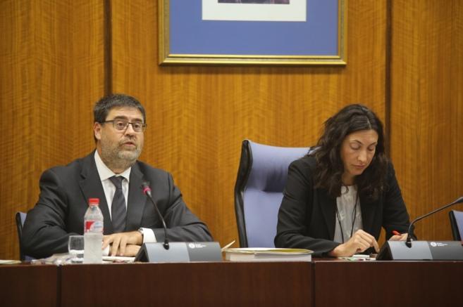 El presidente de la Cámara de Cuentas, Antonio López, comparece en...