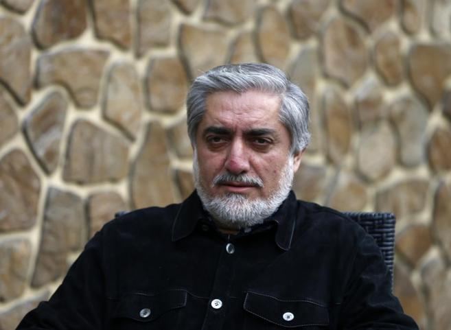 Abdullah Abdullah, candidato a las presidenciales afganas.