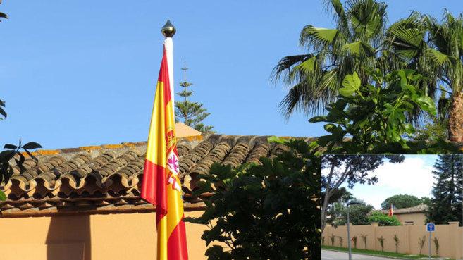 Fachada de la nueva casa de José María Aznar y Ana Botella en...