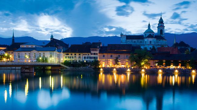 La ciudad de Solothurn.