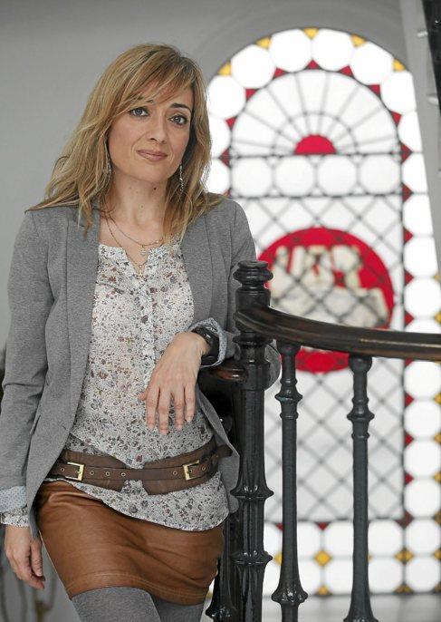 Carmen Castilla, en la sede central del sindicato UGT en Sevilla.