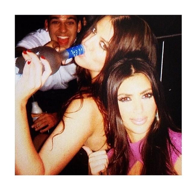 Como muchos otros usuarios de Instagram, Kardashian aprovecha los...