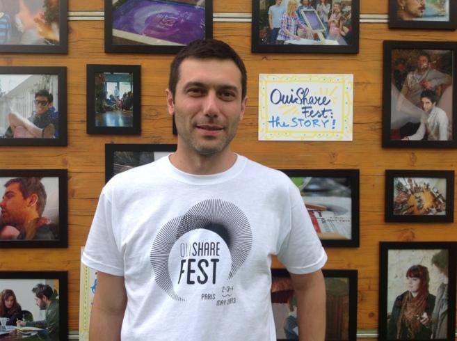 Albert Cañigueral, fundador de Consumocolaborativo.com y uno de los...
