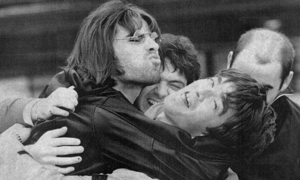 Los hermanos Gallagher en los 90