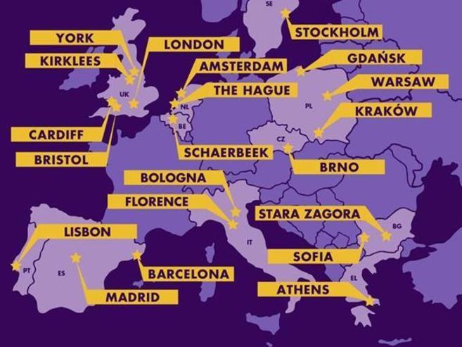 21 ciudades finalistas en la carrera por la financiación del ex...