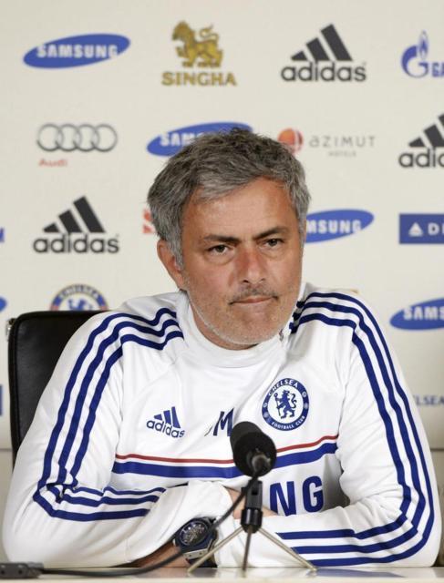 José Mourinho, durante una rueda de prensa.