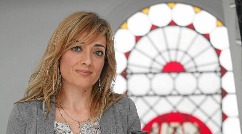 Carmen Castilla, en la sede del sindicato UGT en Sevilla.