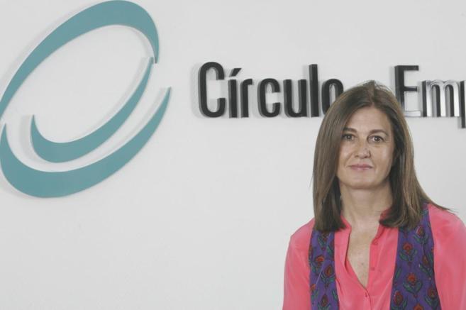 La presidenta del Círculo de empresarios, Mónica Oriol.
