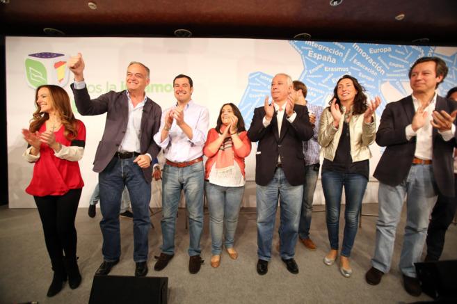 Jiménez Becerril, González Pons, Moreno Bonilla, Arenas, Loles...