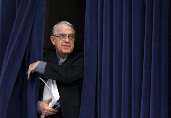 El portavoz de la Santa Sede, Federico Lombardi.
