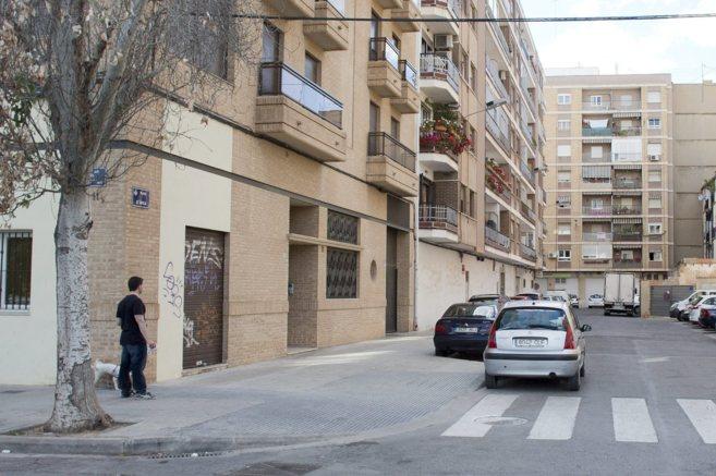 El lugar donde se produjo el accidente y las denuncias, la Plaza de...