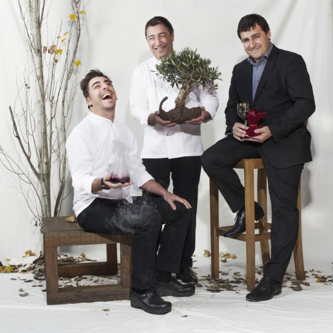 Los hermanos Roca, responsables del restaurante 'El Celler de Can...