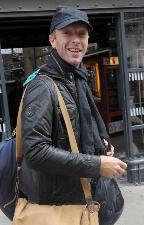Chris Martin, la semana pasada en París.