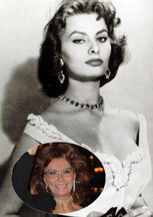 Sophia Loren (79). La italiana más internacional no se atreve a...