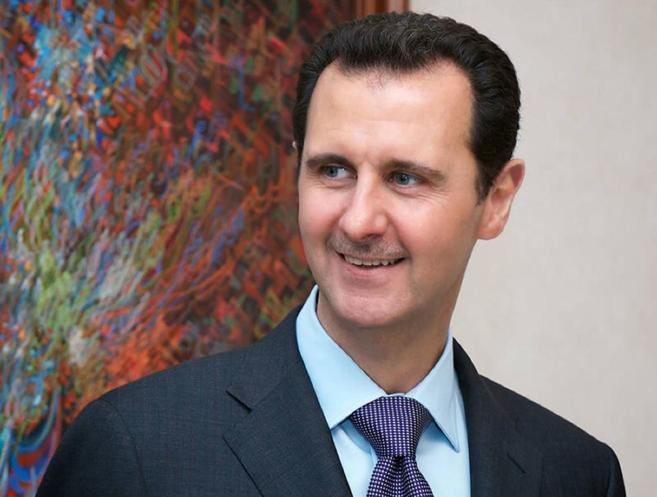 El presidente sirio, Bashar Asad, en Damasco.