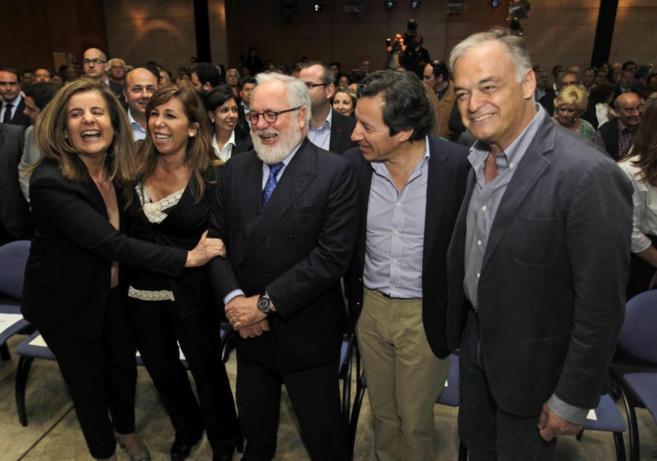 Arias Cañete, en el acto celebrado en Barcelona.
