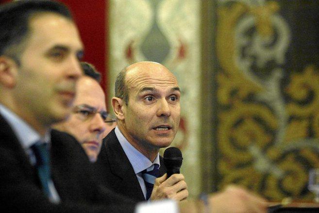 El concejal de Hacienda, Juan Seva, en una imagen de archivo durante...