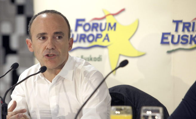 El cabeza de lista de EH Bildu a las elecciones europeas, Josu...
