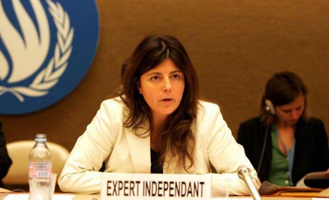 La relatora de la ONU, Magdalena Sepúlveda, en una imagen de archivo