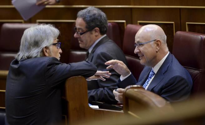 Josep Antoni Duran Lleida en el Congreso