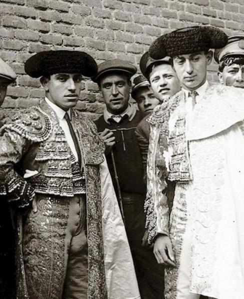 Joselito y Belmonte en Madrid.