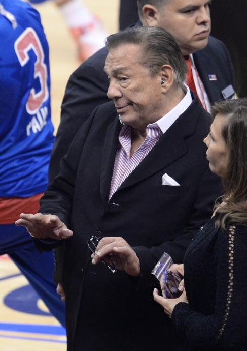 Donald Sterling, propietario de Los Angeles Clippers.