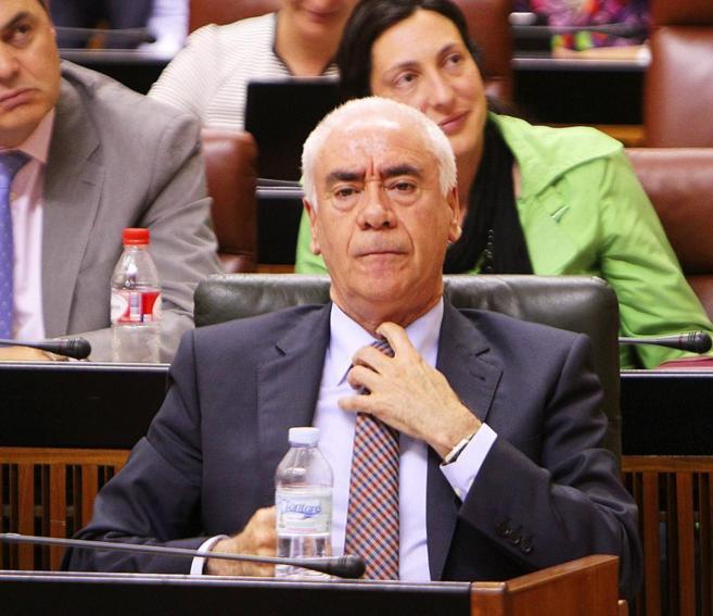 El consejero de Educación de la Junta, Luciano Alonso.