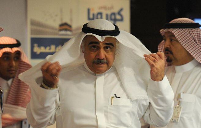 El nuevo ministro de Sanidad, Adel Faqih, antes de dar su primera...