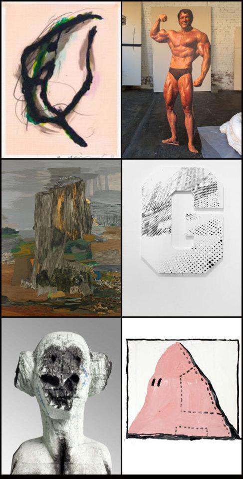 Una selección de las obras expuestas en la 'Galllery...