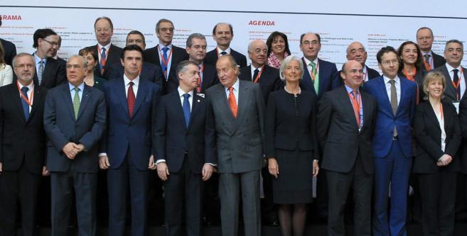 El Rey junto al lehendakari en en su última visita al País Vasco con...