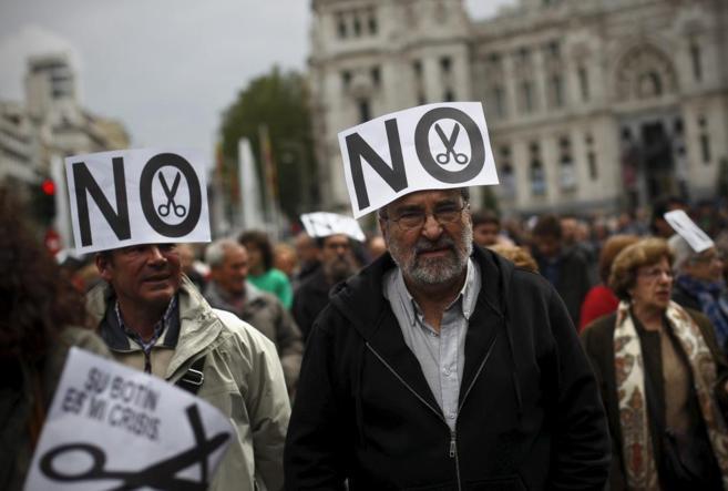 Manifestación del 1 de mayo de 2013 en Madrid.