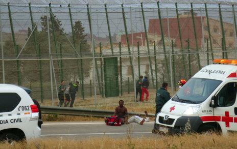 Inmigrantes atendidos por los servicios sanitarios.